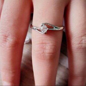 Jewelry - 😍😍18K WHITE GOLD RING 😍😍